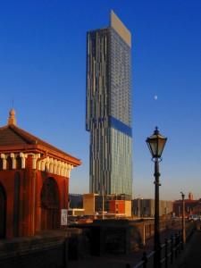iconic Manchester skyscraper