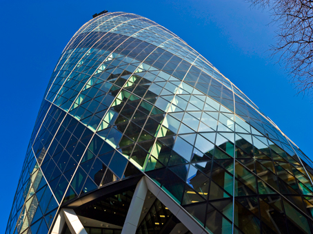 Example of flexible offices in Central London