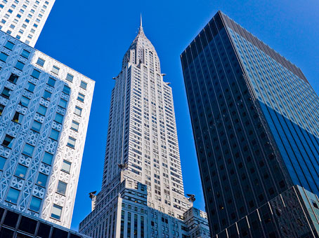 examples of iconic office buildings in NYC