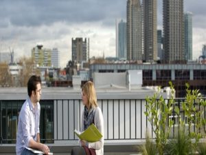 Office with roof terrace in Farringdon