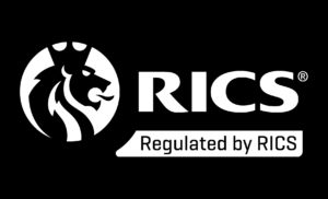 RICS Logo - The Office Providers are regulated by the Royal Institution of Chartered Surveyors (RICS)